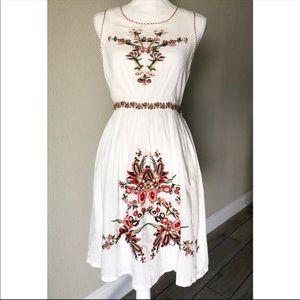 Boho Linen Dress